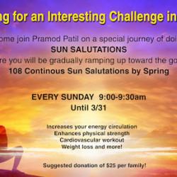 108 Sun Salutations Challenge (Yoga)