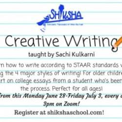 Creative Writing: elementary